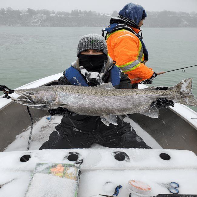 lake hurom fishing
